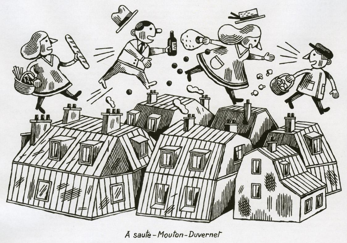 la belle illustration jochen gerner guide fooding. Black Bedroom Furniture Sets. Home Design Ideas