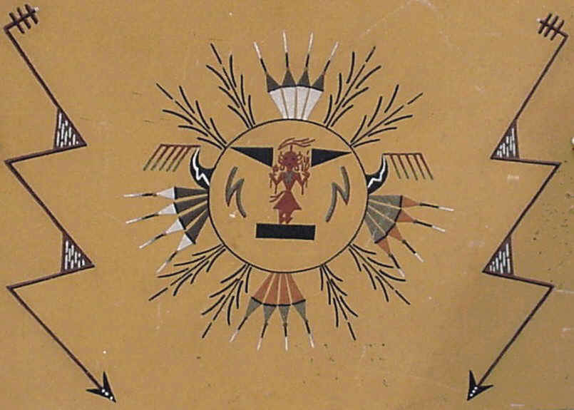 navajo sand painting coloring pages - photo#39