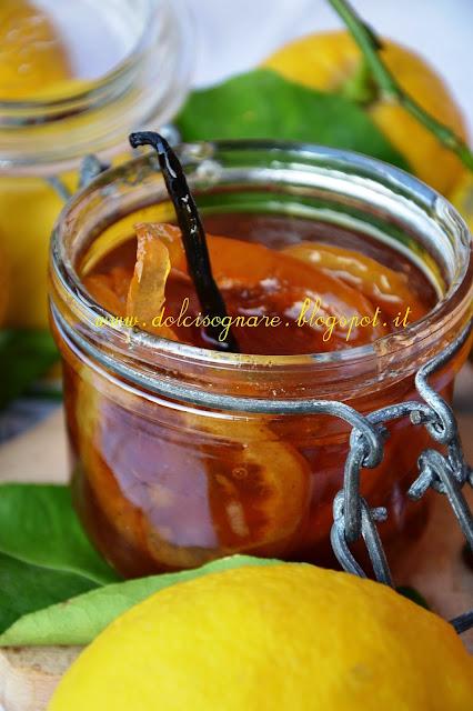 marmellata di limoni della riviera ligure