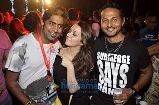 Arjun Rampal & Sushmita at Armin van Buuren's concert