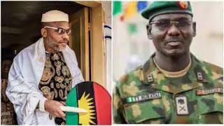 Biafra: Court refuses to order Buratai to produce Nnamdi Kanu