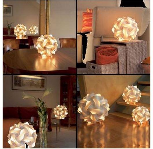 Luminárias inusitadas