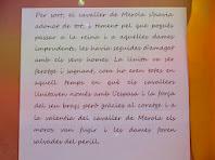 La continuació de la llegenda del Cavaller de Merola