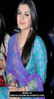 Hansika Motwani in tight dress