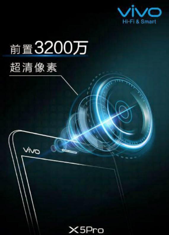 Vivo X5 Pro: Teaser για selfies με κάμερα 32 Megapixel