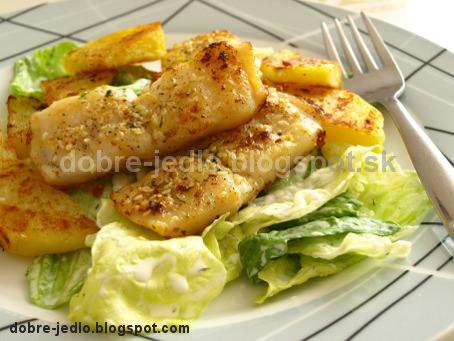Pečená ryba so sezamom - recepty