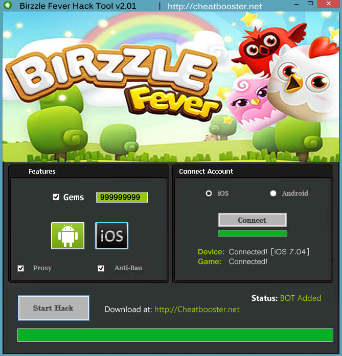Birzzle Fever Hack