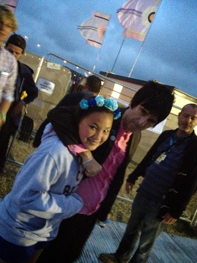 Johnny Marr and Betty Camp bestival 2014