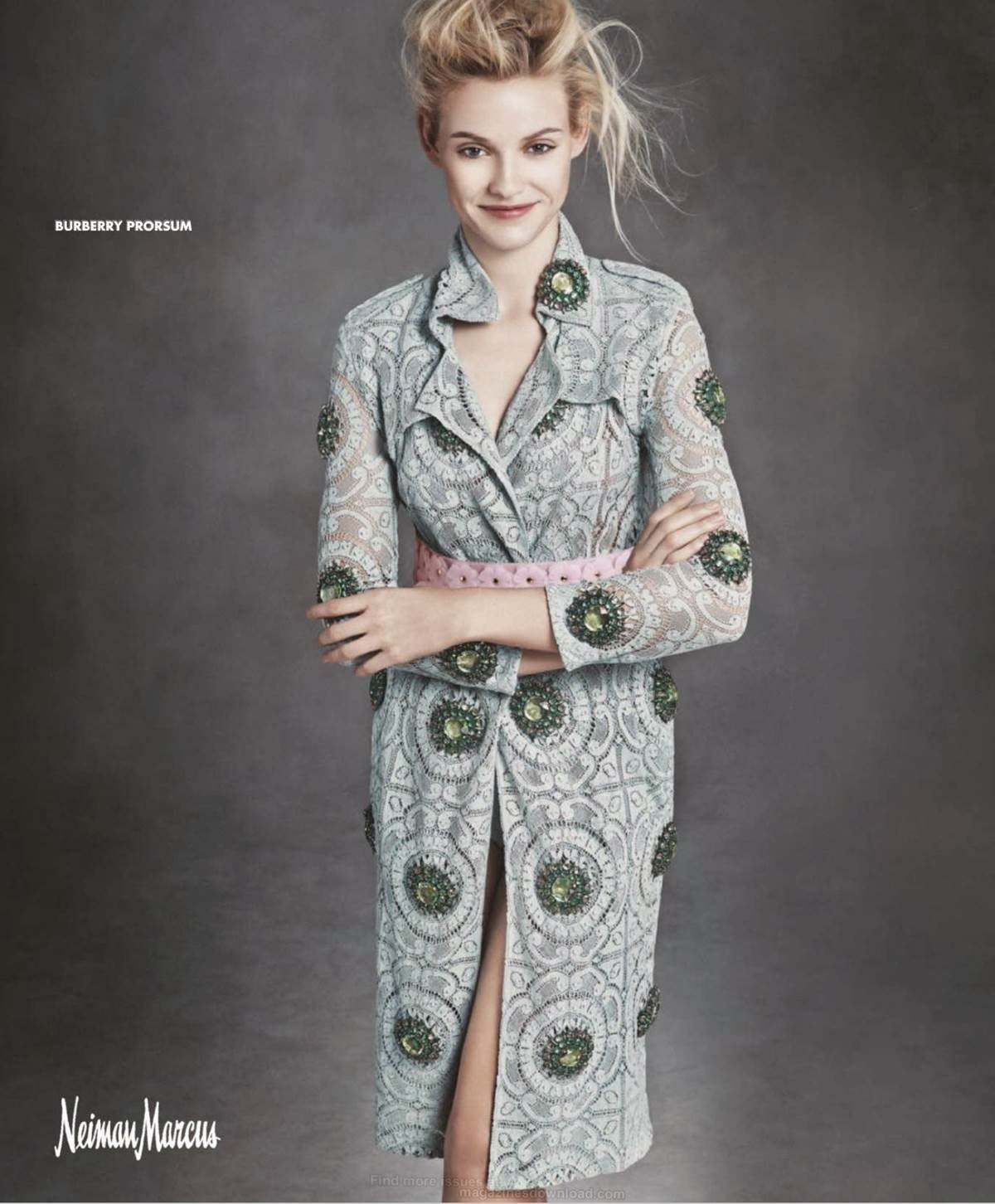 Ginta Lapina and Fei Fei Sun star for the Neiman Marcus ...