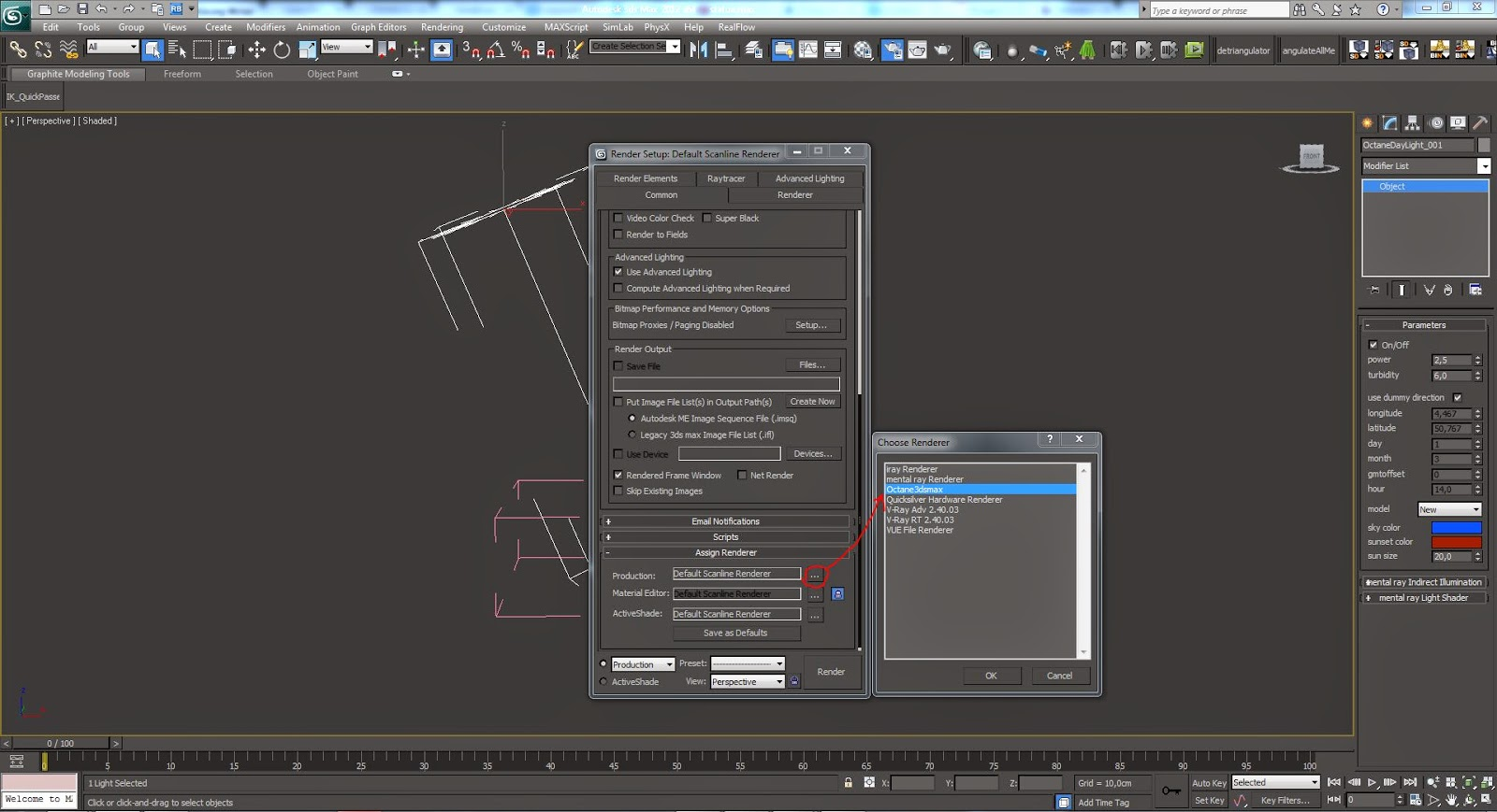 Creare un materiale in octane render il marmo di botticino afterimage bolg - Materiale specchio 3ds max ...