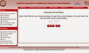 railway pnr status