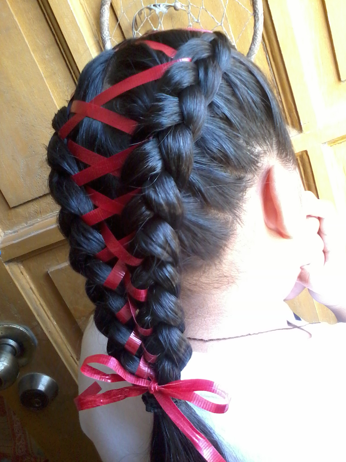 Sam S Pretty Hairstyles Quot The Ribbon Or Shoelace Braid Quot