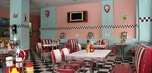 Cafeter a pin up decoraci n del local - Decoracion retro americana ...