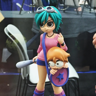San Diego Comic-Con 2015 First Look: Ramona Flowers Scott Pilgrim Vinyl Figure by Mondo x Bryan Lee O'Malley