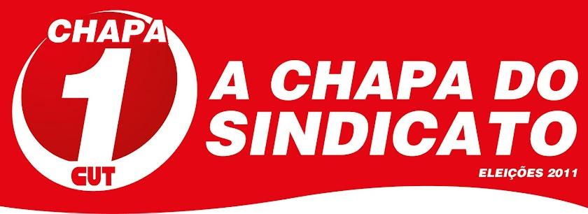 CHAPA 1 CUT -  A Chapa do Sindicato dos Bancários