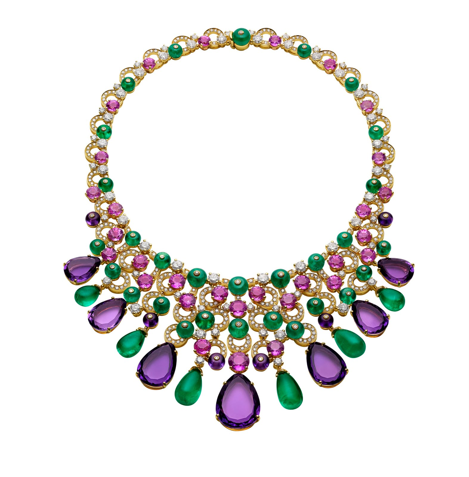 Bulgari Releases Its New Emerald And Gold High Jewellery