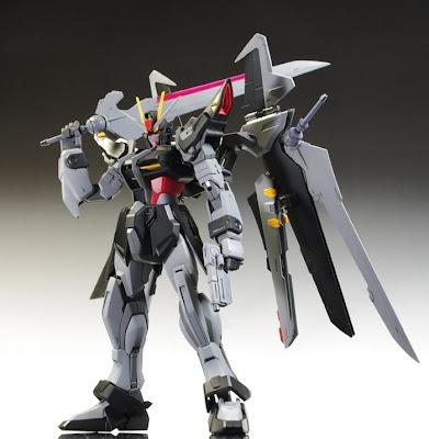 MG Strike Noir Gundam review