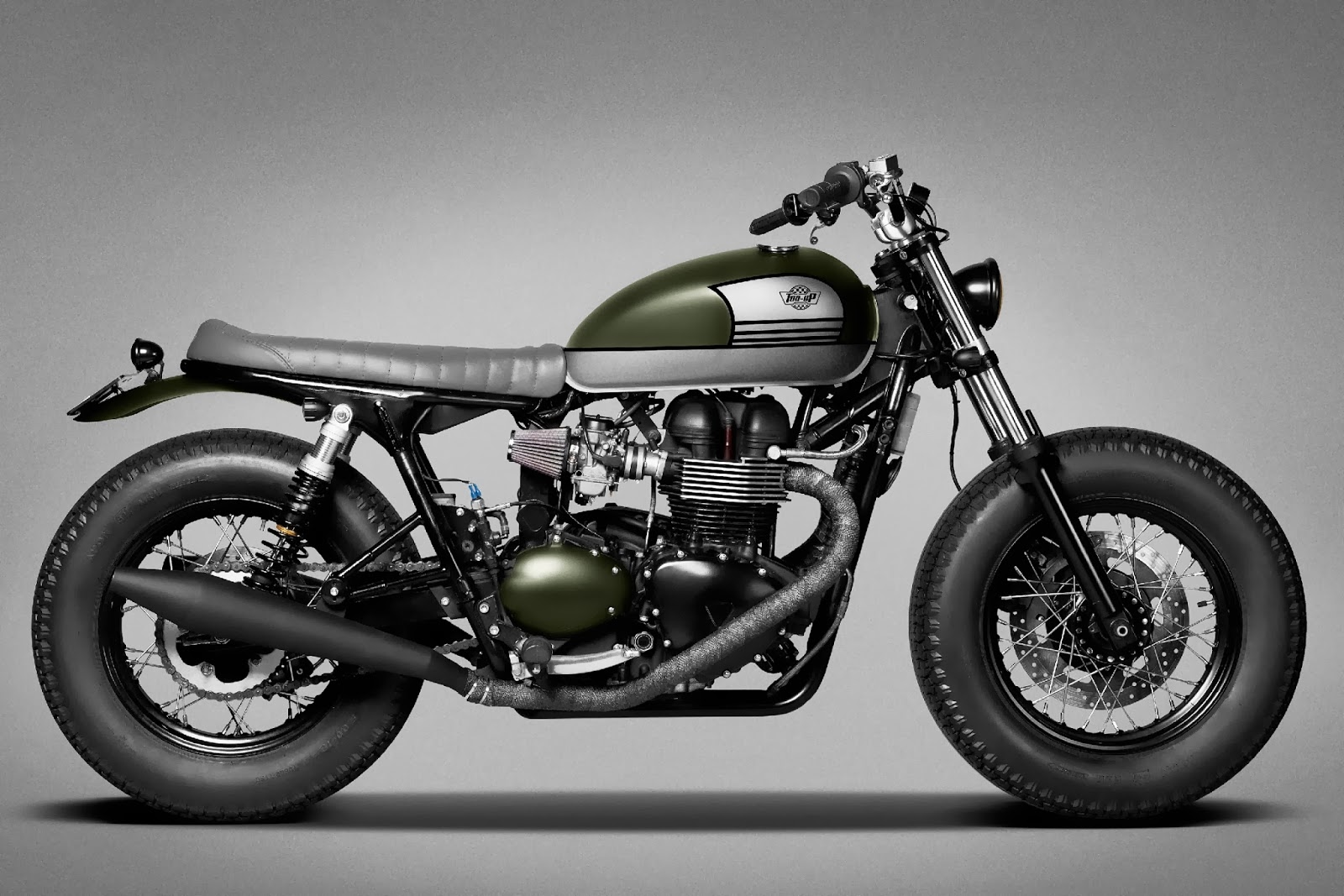 Triumph Bonneville Custom by Top-Up Garage