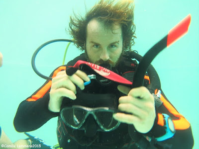 PADI IDC for November 2015 in Khao Lak, Thailand is halfway