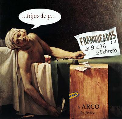 Franqueados, ARCO, arte