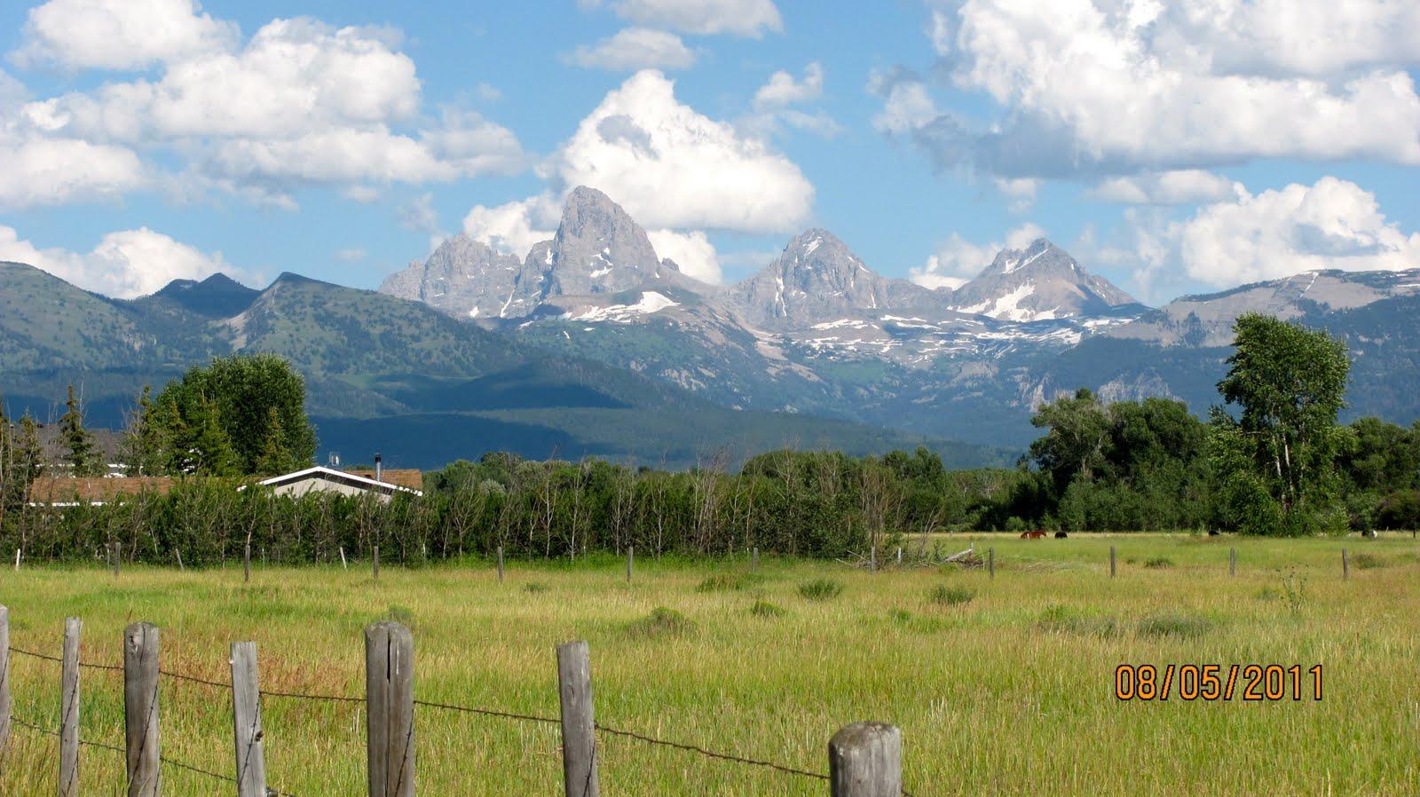America By Rv Travel Day To Tetonia Idaho Mountain View