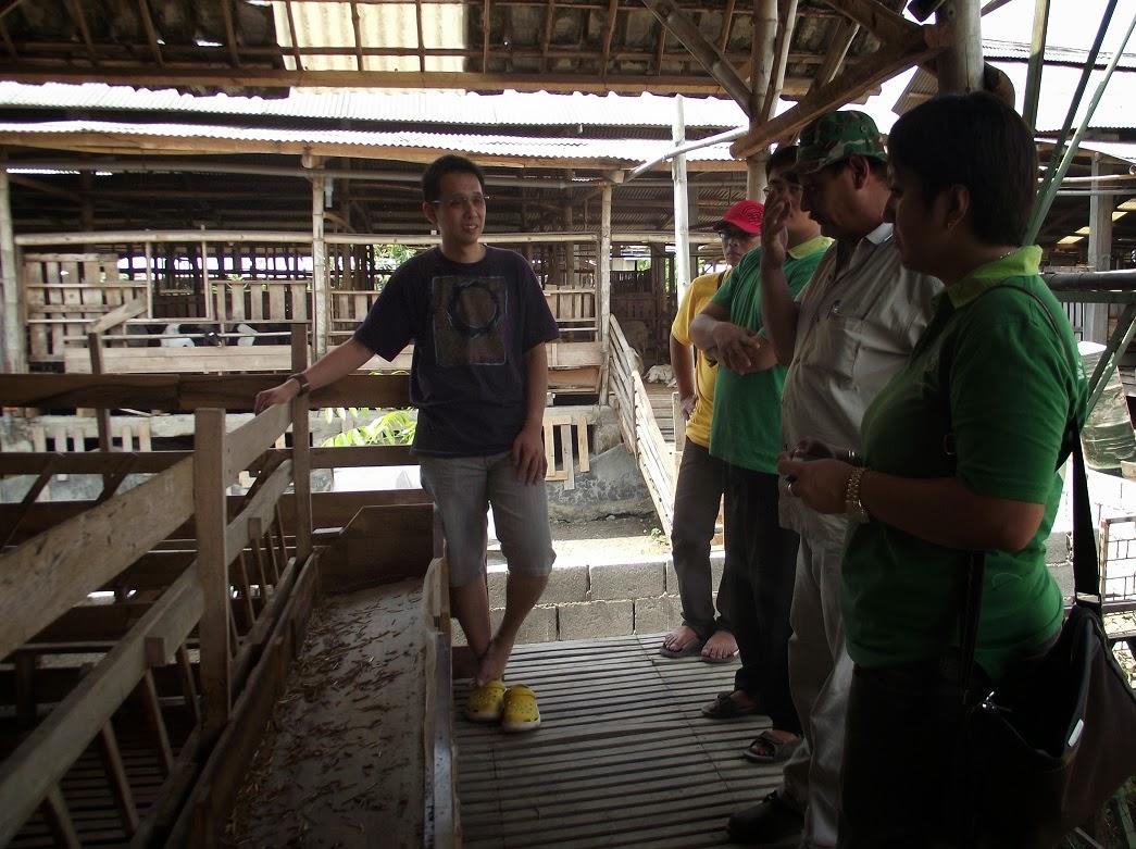 Kunjungan ke Farm DEG-PE tgl 22 September 2013