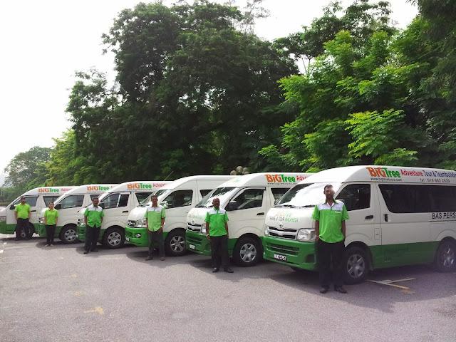 Kuala Lumpur KLIA LCCT Budget Van Charter - www.bigtreetours.com