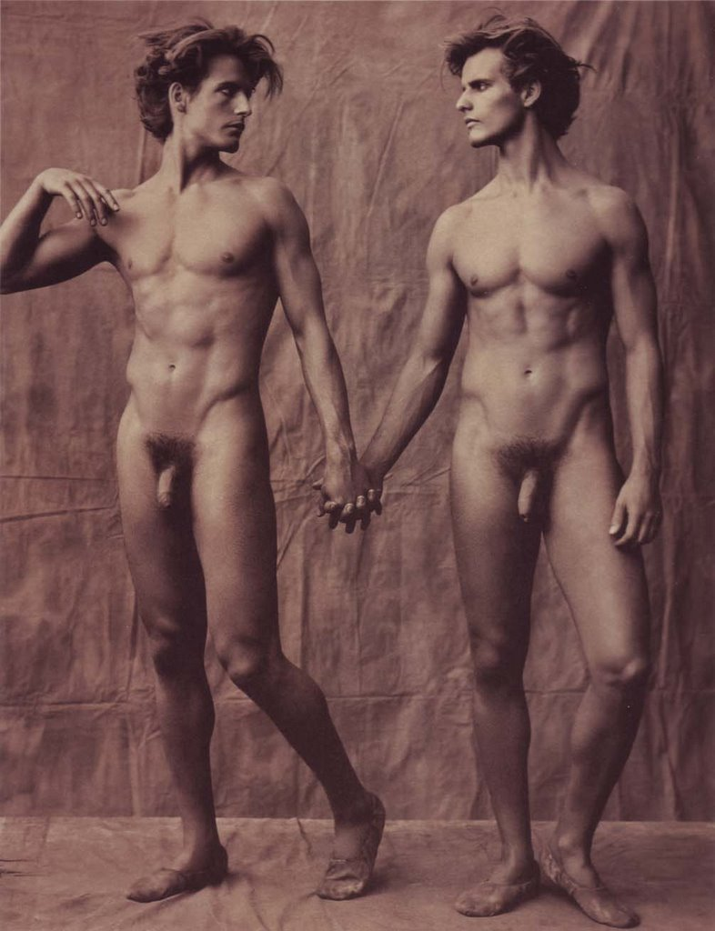 Nude male twins naked