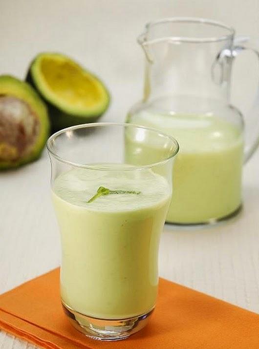 Vitamina de Abacate com Aveia (vegana)