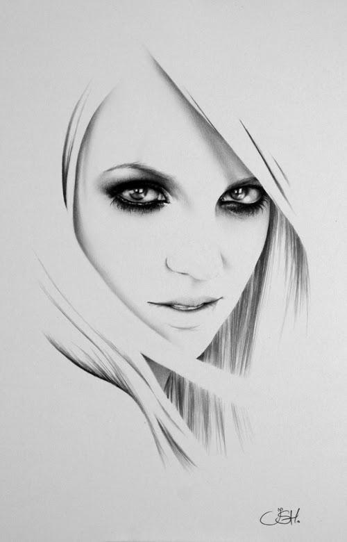 04-Artist-Ileana-Hunter-Minimalist-Hyper-Realistic-Portraits-www-designstack-co