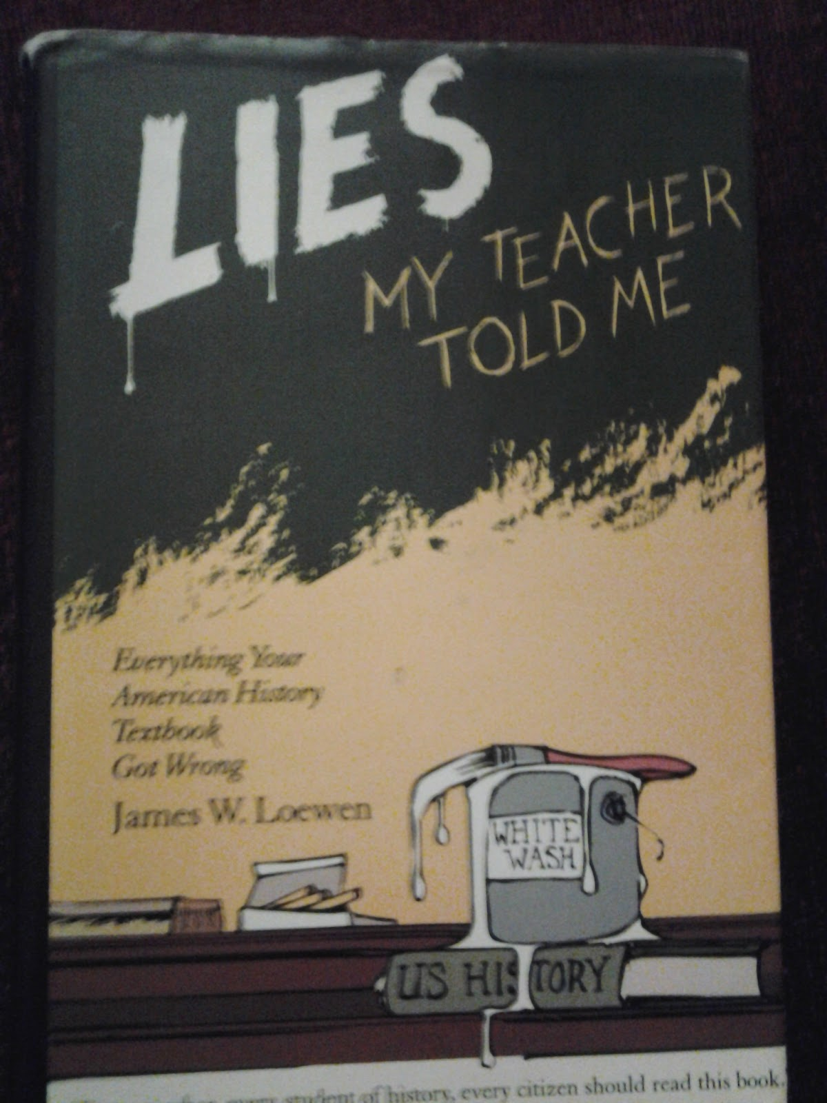 Lies my teacher told me essay