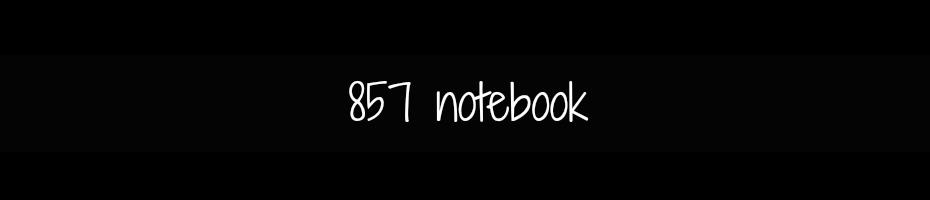 857 notebook