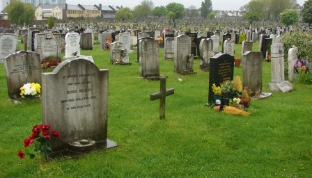 St. Mary's Roman Catholic Cemetery in London.