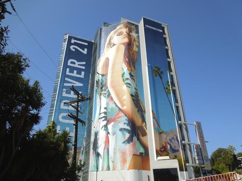 Forever 21 Coachella collection sky ferreira billboard