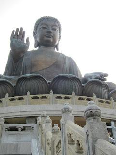 Tian Tan Buddha Po Lin Monastery Lantau Island Hong Kong
