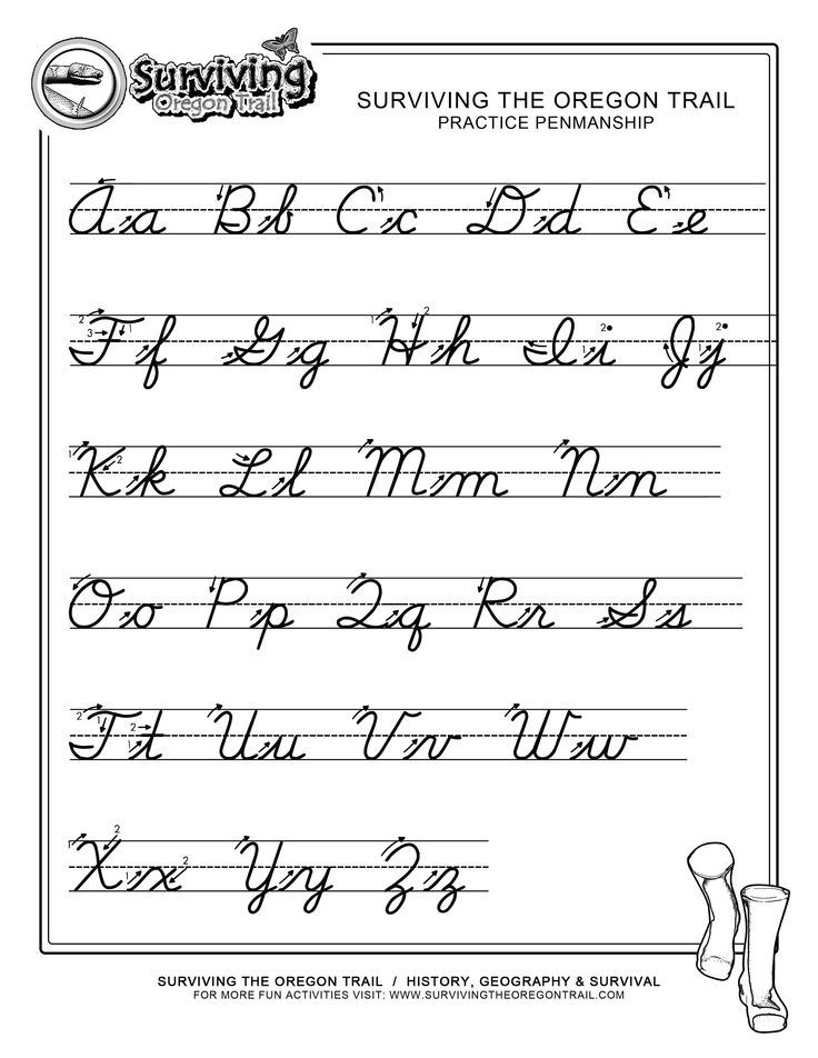 Printables Free Handwriting Alphabet Worksheets alphabet in cursive writing coffemix learn letters