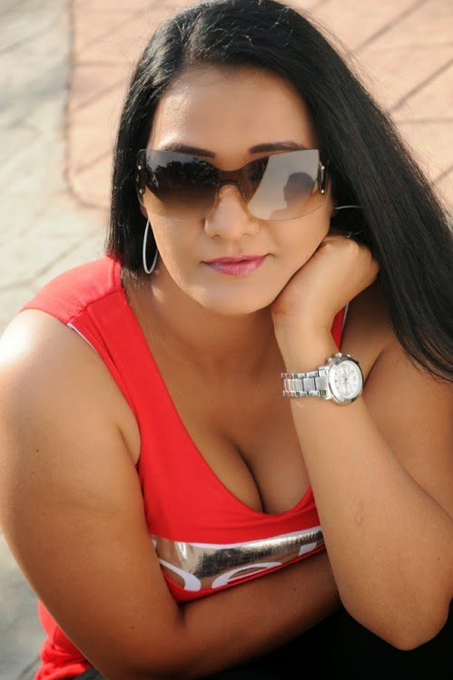 Apoorva Latest Hot Photo Gallery in Red Top - Indian Cinema Gallery