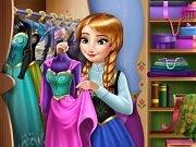 Frozen Anna Closet
