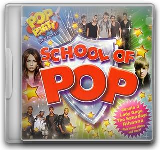 Capa CD Pop Party Presents   School Of Pop (2011)