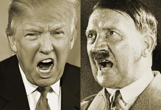 Donald Trump Mirip dengan Adolf Hitler