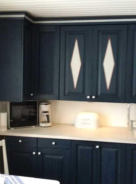 JUVI® Lifestyle Sininen JUVI keittiö  Värillä on Väliä!