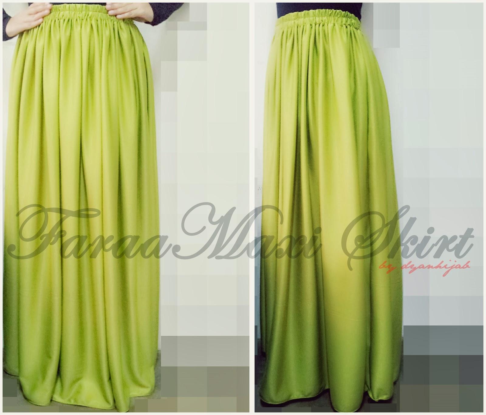 dyanhijab faraa maxi skirt