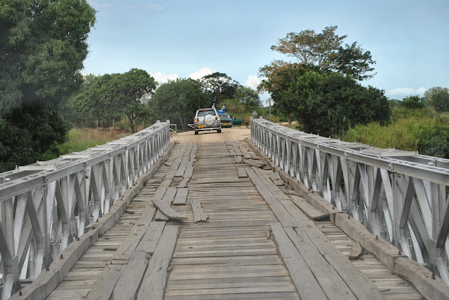 Wami bridge, Saadani National Park, Bagamoyo