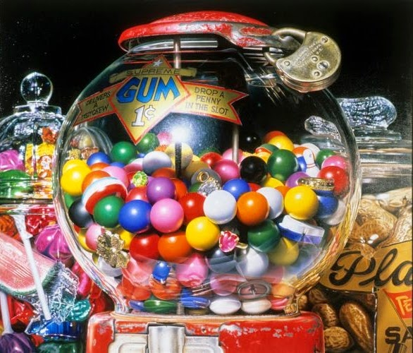 07-drop-a-penny-in-the-slot-Charles-Bell-Hyper-Realistic-Paintings-www-designstack-co