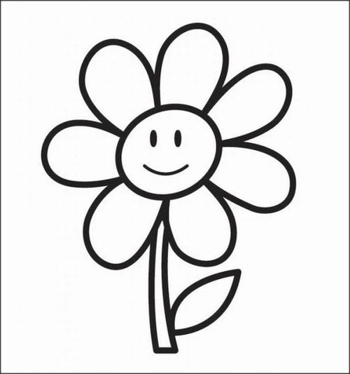 Free Hearts And Flowers Coloring Pages