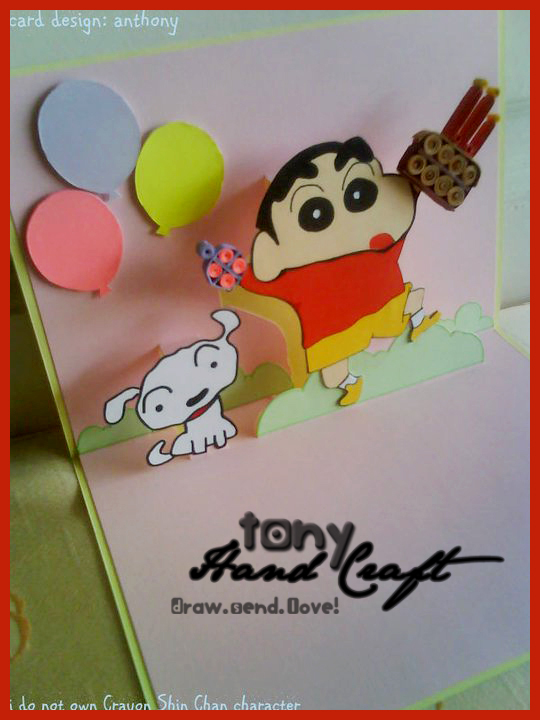 Tony Hand Craft Specially Requested And Made Crayon