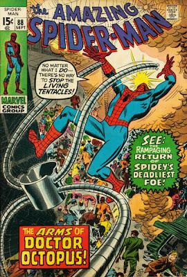 Amazing Spider-Man #88, Dr Octopus, John Romita cover