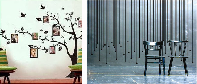 Idee per decorare le pareti trend hub - Adesivi da muro ikea ...