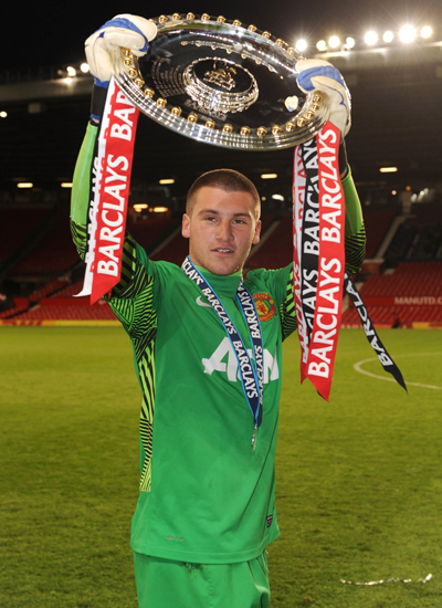 Sam Johnstone Manchester United Goalkeeper 20132014