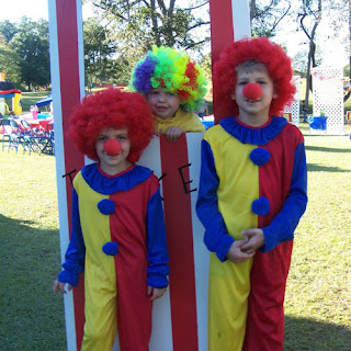 Carnival Party Clown Costumes